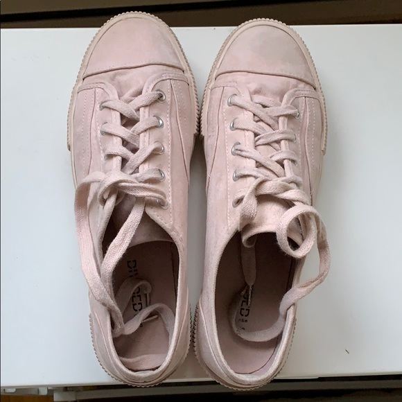 pink sneakers from H&M